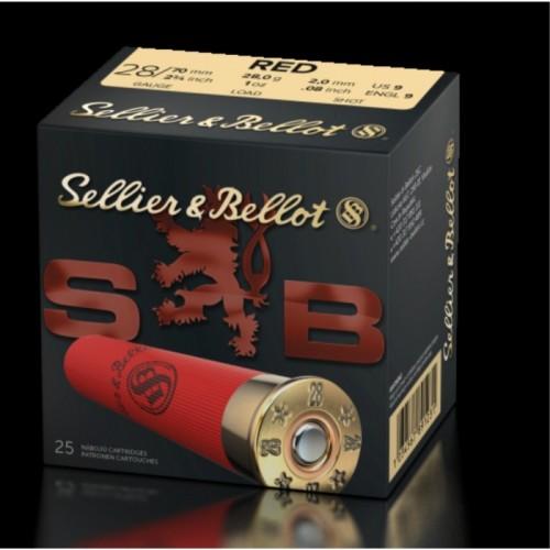 SB RED C28 28GR SELLIER & BELLOT