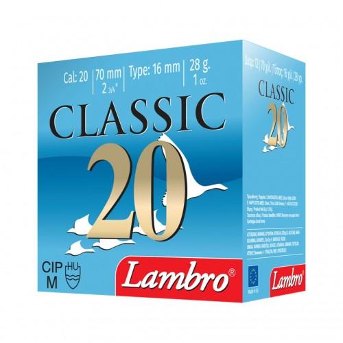 CLASSIC 20 28GR CAL 20 LAMBRO