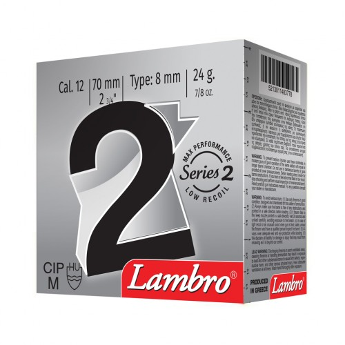 SERIES 2 MAX PERFORMANCE  LOW RECOIL 24GR LAMBRO