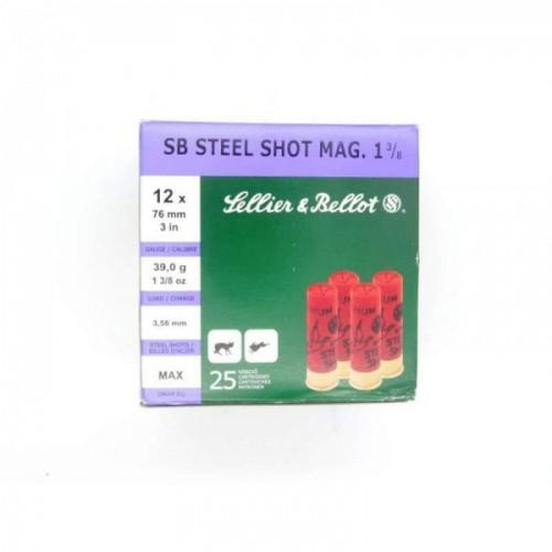 SB STEEL SHOT MAG 1 3/8 SELLIER & BELLOT
