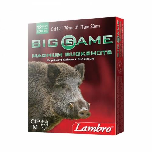 BIG GAME 12ΒΟΛΟ MAGNUM 44g (12×8,65mm)LAMBRO